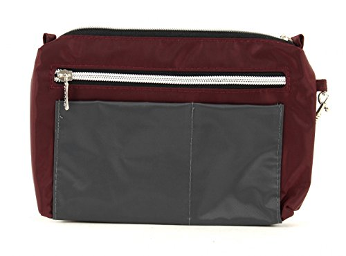 Picard Switchbag bolso bandolera 20 cm Anthr-Komb (Gris / Rojo)