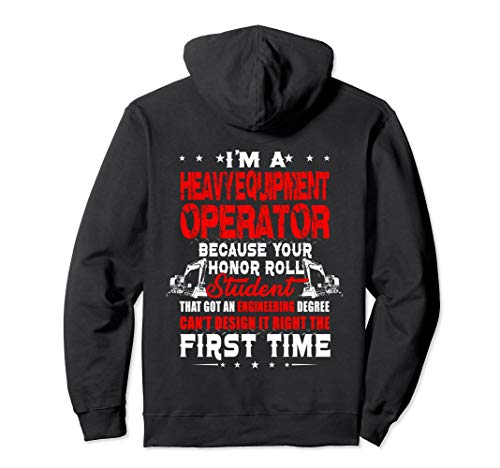 I'm A Heavy Equipment Operator Because Your Honor ()