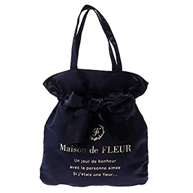 85cb0a102fa5 Amazon | メゾン ド フルール(Maison de FLEUR) リボントートバッグ ...