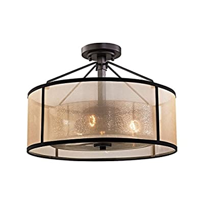 Elk Lighting Diffusion 57024/3 Semi Flush Mount Light