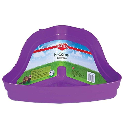 Super Pet Hi-Corner Litter Pan, 13.75