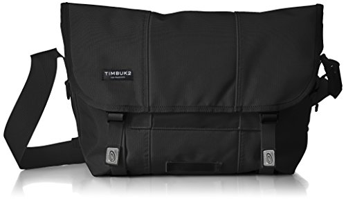 Timbuk2 Classic Messenger Bag, Jet Black, Medium