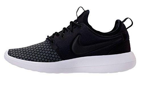 Nike Roshe Two Se - Calzado Atlético Con Cordones, Sintético, Negro Para Hombre