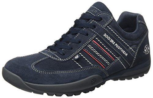 Dockers 36HT001-200660 - Zapatillas de Piel para hombre Azul (Navy)