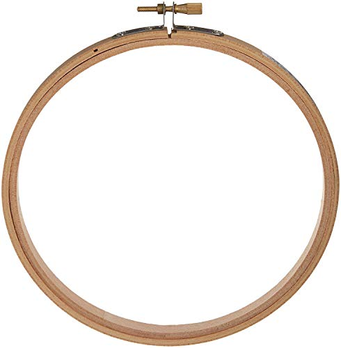 4 Inch Round Wooden Embroidery Hoops Bulk Wholesale 12 Pieces New Darice