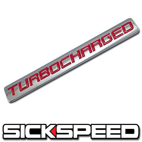 bocharged Engine Race Motor Swap Badge For Trunk Hood Door for Honda Accord ()