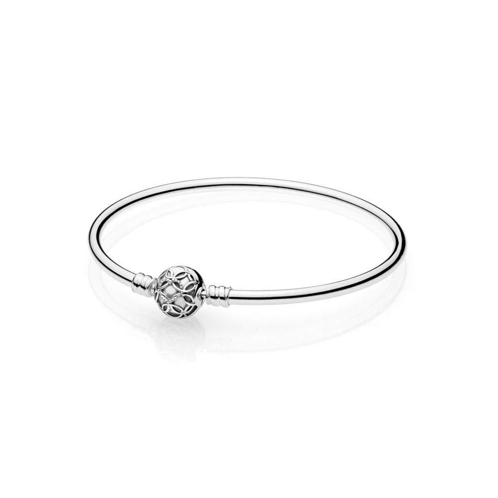 Pandora Women Silver Bangle - 597137 (17.00)