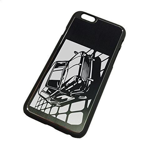 iPhone 6 (4.7inch) Black Case BMC Morris MINI Cooper KIRIE Design [CI6-023] Japan Import (Mini Cooper Japan)