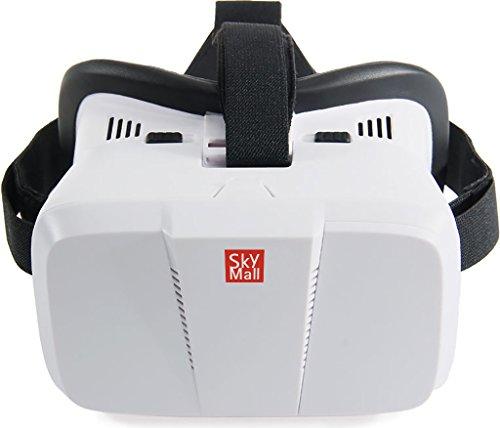Lentes de realidad virtual 3D SkyMall - Para películas, vídeos y videojuegos en 3D y 360°. Compatible con aplicaciones de...