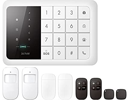 Amazon Com Denver Alarm System With Gsm Module Built In 19400000