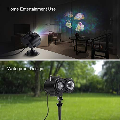Openuye PJL01 PJL Led, Dual Decorative Outdoor Lighting Projectors