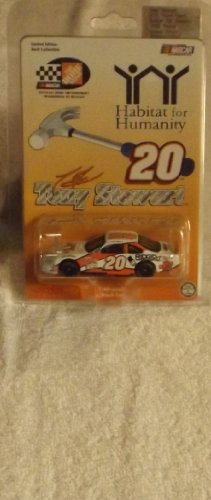 (1999 Action Racing Collectables . . . Tony Stewart #20 Home Depot / Habitat For Humanity Pontiac Grand Prix 1/64 Diecast . . . Limited Edition)