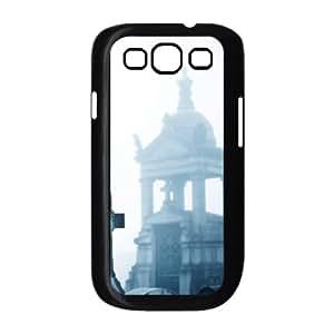 Samsung Galaxy S 3 Case, misty cemetery Case for Samsung Galaxy S 3 Black