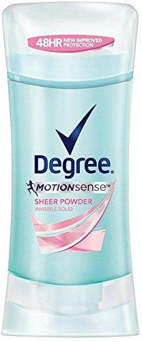 Degree Wmns Inv Sld Sheer Size 2.6z Degree Women'S Motion Sense Invisible Solid Sheer Powder ()