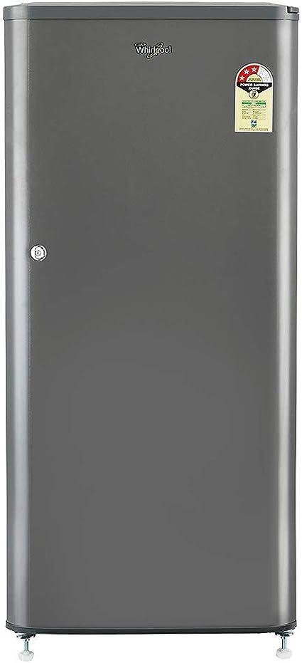 Whirlpool 190 L 3 Star Direct Cool Single Door Refrigerator WDE 205 CLS 3S GREY E, Grey  Refrigerators