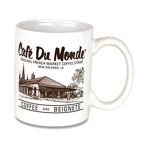 Cafe Du Monde Coffee Mug New Orleans LA Original French Quarter Beignets 10 oz