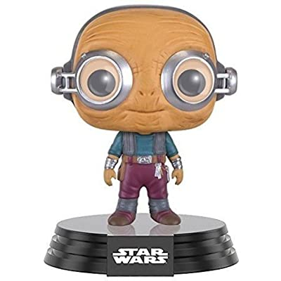 Funko POP Star Wars: Episode 7: The Force Awakens Figure - Maz Kanata: Funko Pop! Star Wars:: Toys & Games