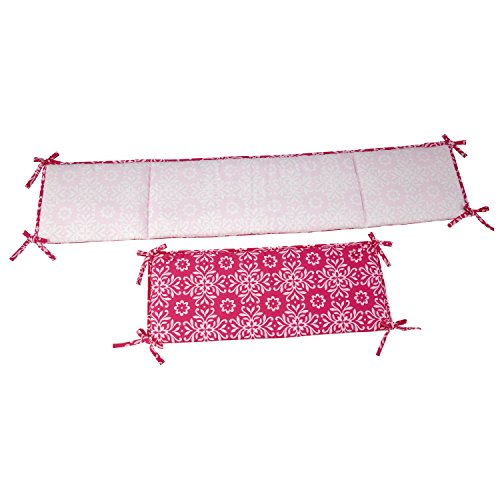 NoJo Butterfly Bouquet Traditional Padded Bumper