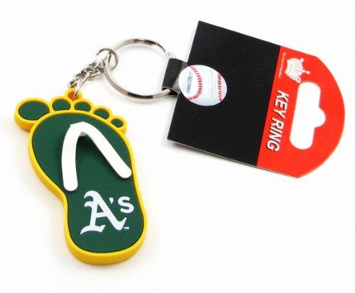 Oakland Athletics - MLB Flip Flop Key Chain