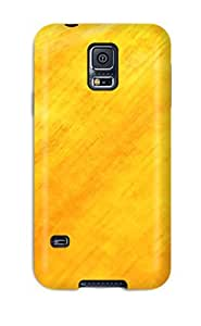 Premium [QzDAXUD1598CdBVY]solid Faded Orange Case For Galaxy S5- Eco-friendly Packaging