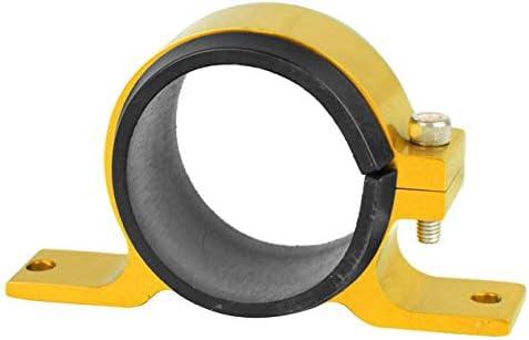車の改造部品シングルオイルポンプ固定ブラケット60Mm燃料ポンプクイック取り付けブラケット車の改造アクセサリー-ゴールド