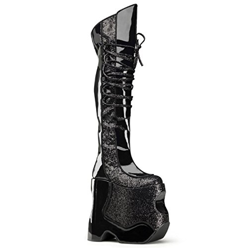 Devious Fabulous-3035 - Sexy Glamour Drag Queen Platau Stiefel High Heels 38-45
