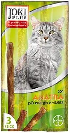 Bayer Joki Plus - Comida para Gatos, Sabor Pato: Amazon.es: Productos para mascotas
