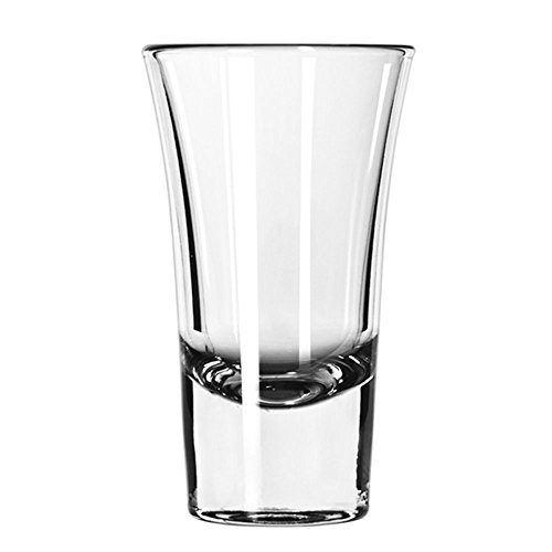 Shooter Shot Flared Glass (Libbey 5109 Clear 1.88 Ounce Shooter Glass - 24 / CS)