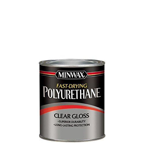 Minwax 63000 Fast Drying Polyurethane Clear Gloss, Quart