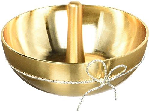 Wedgwood Vera Wang Love Knots Ring Holder, Gold (Wedgwood Love Knots)