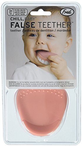 Fred Chill Baby Teether False Teeth