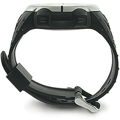 Next-shine Fitness Tracker Smart Watch Track Your Heart Rate,Steps,Distance and Calories,Without Chest Belt,Black