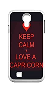 Cool Painting Capricornus / CAPRICORN Snap-on Hard Back Case Cover Shell for Samsung GALAXY S4 I9500 I9502 I9508 I959 -217