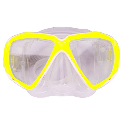 - Kids Junior Boy Girl Diving Masks Silicone Anti Fog Anti Leak Dive Swimming Goggles Tempered Glass Lens Watertight Wide Clear View Safety Glasses Scuba Swim Diving Snorkeling Mask for Child Age 5-12Y