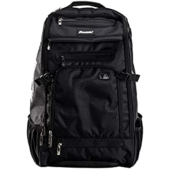 1f92eb48f816 Franklin Sports MLB Traveler Elite Baseball Backpack – Baseball Bag or  Softball Backpack – Stores Batting Glove, Helmet, Cleats and More - ...