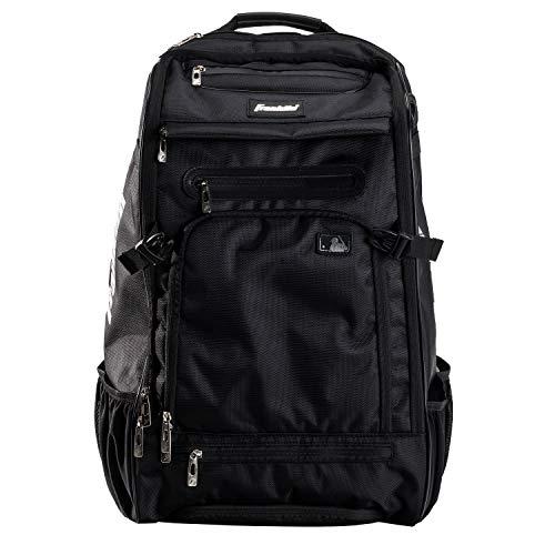 Franklin Sports MLB Traveler Elite Baseball Backpack - Baseball Bag or Softball Backpack - Stores Batting Glove