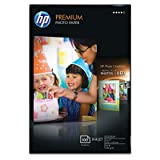 HP Premium Photo Paper, Glossy (100 Sheets, 4 x 6 Inch Borderless), Office Central