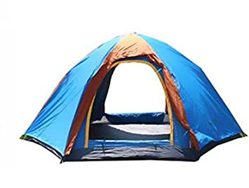 Image Unavailable  sc 1 st  Amazon UK & Outdoor hexagonal tent Camping camping Family tents 5-8 people ...