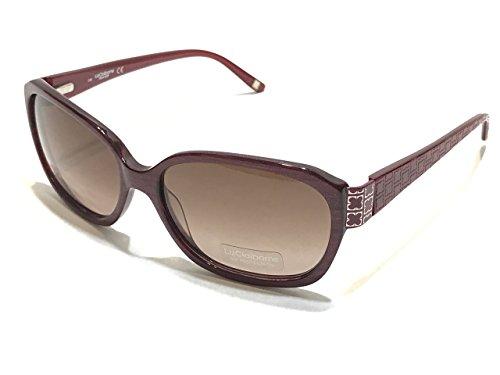 Liz Claiborne L548/S 0JZB S4 Wine Sunglasses - Claiborne Liz Sunglasses