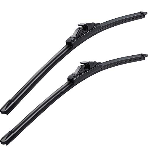 """Windshield Wiper Blades, MIKKUPPA for 2002-2008 Audi A4 Front Wiper - Original Equipment Replacement - 22"""" + 22"""" (Pack of 2)"""