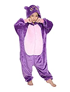 Ddwolf Kids Purple Cat Halloween Costume Onesie