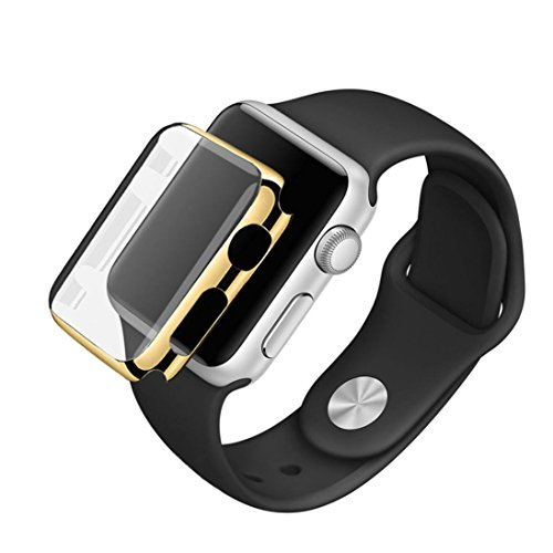 For Apple Watch Series 2 42mm,GBSELL Sports Silicone Bracelet Strap Band +Cover Case For Apple Watch Series 2 42mm