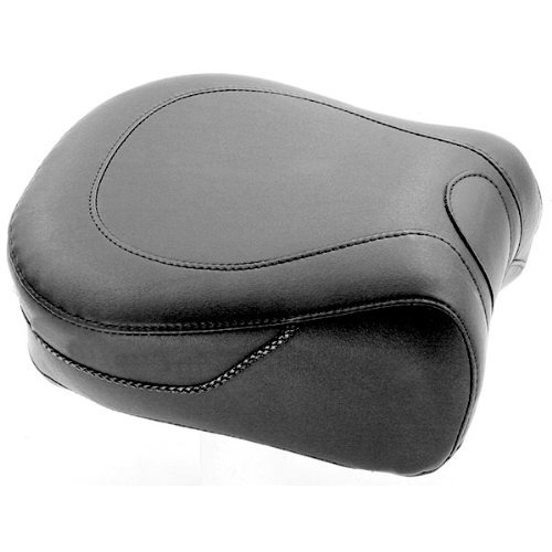 Mustang Solo Recessed Rear Seat for 2008-2011 Harley Davidson Road King/FLHT/FL - Recessed Rear Seat