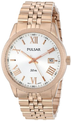 Pulsar Women's PS9232 Analog Display Japanese Quartz Gold (Pulsar Gold Wrist Watch)