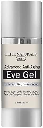 Elite Naturals Eye Cream for Dark Circles, Puffiness, Fine Lines, Wrinkles and Bags - The Most Effective Anti Aging Eye Gel for Every Eye Concern, Dermatologist Recommended - 1.7 fl oz