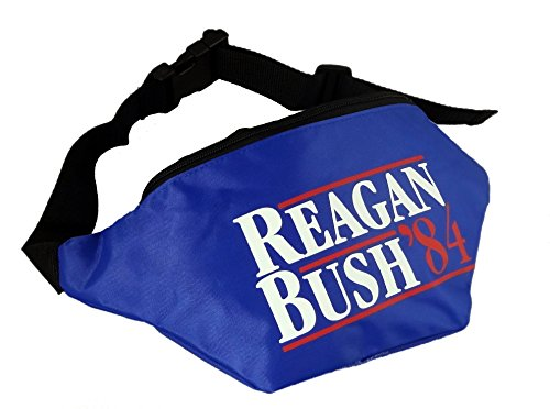 [Funny Guy Mugs Reagan Bush '84 Fanny Pack] (Costumes Usa)