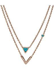 英亚:FOSSIL 女式项链 jf02644791 ,现价:£39