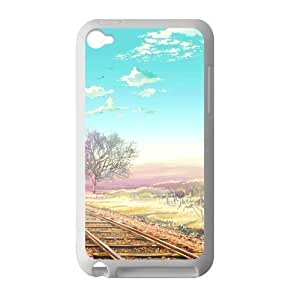 Welcome!Ipod Touch 4 Cases-Brand New Design Railway Printed High Quality TPU For Ipod Touch 4 3.5 Inch -05