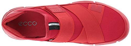 Ecco Intrinsic 1, Sneakers Basses Femme Rouge (Tomato/tomato)