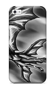 New Design Shatterproof LJbGeZb3136aDDOd Case For Iphone 5c (dragon)